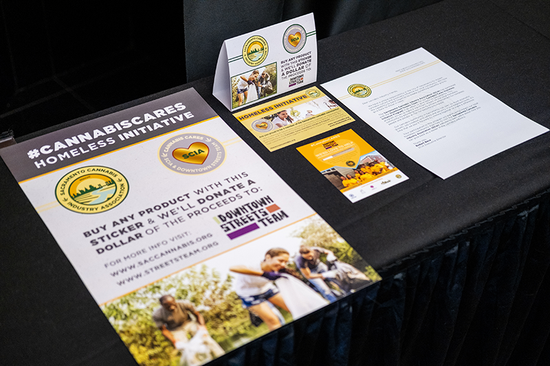Sacramento Cannabis Industry Association blog - CannabisCares Cannabis Cares marijuana advocacy business ganjapreneur entrepreneur charity homeless giving back SCIA sacramento california